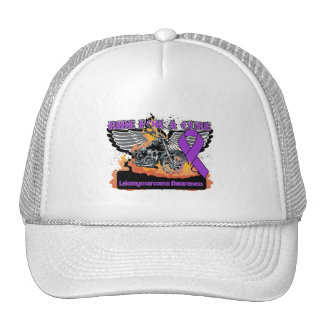 Leiomyosarcoma Cancer Ride For a Cure Trucker Hats