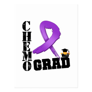 Leiomyosarcoma Chemo Grad Postcard