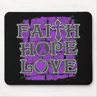 Leiomyosarcoma Faith Hope Love Mousepad