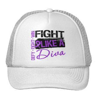 Leiomyosarcoma - Fight Like a Diva Trucker Hat
