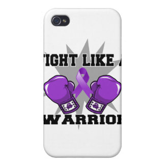 Leiomyosarcoma Fight Like a Warrior iPhone 4/4S Covers