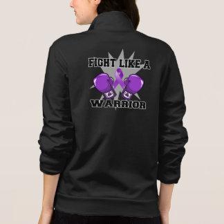 Leiomyosarcoma Fight Like a Warrior Printed Jacket