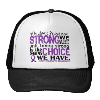 Leiomyosarcoma How Strong We Are Hats