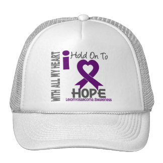 Leiomyosarcoma I Hold On To Hope Trucker Hat