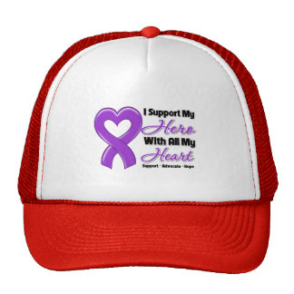 Leiomyosarcoma I Support My Hero With All My Heart Hat