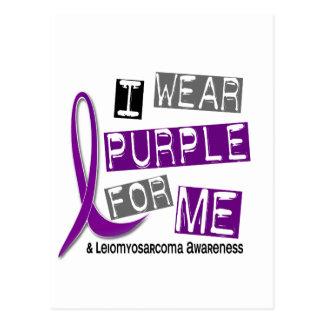 LEIOMYOSARCOMA I Wear Purple For Me 37 Postcard