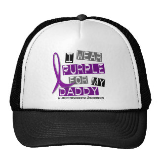 LEIOMYOSARCOMA I Wear Purple For My Daddy 37 Trucker Hats