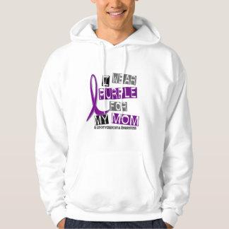 LEIOMYOSARCOMA I Wear Purple For My Mom 37 Hoodie