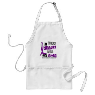LEIOMYOSARCOMA I Wear Purple For My Mom 37 Standard Apron