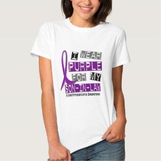 LEIOMYOSARCOMA I Wear Purple For My Son-In-Law 37 Tee Shirt