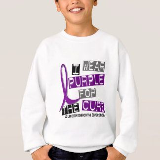 LEIOMYOSARCOMA I Wear Purple For The Cure 37 T-shirt