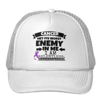 Leiomyosarcoma Met Its Worst Enemy in Me Cap