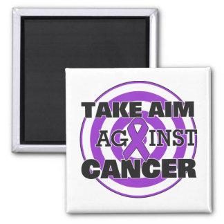Leiomyosarcoma Take Aim Against Cancer Refrigerator Magnets