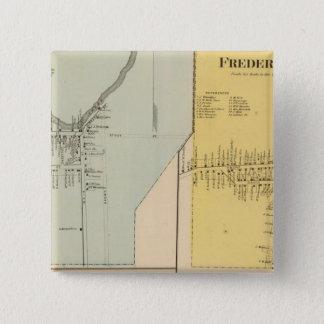 Leipsic, Frederica 15 Cm Square Badge