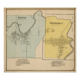Leipsic, Frederica Poster