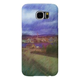 Leirvik City Samsung Galaxy S6 Cases