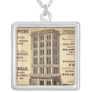 Leisenring's Printing House Silver Plated Necklace