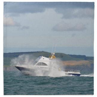 Leisure Fishing Boat Cloth Napkins