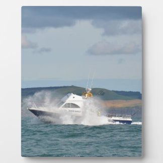 Leisure Fishing Boat Display Plaques