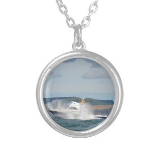 Leisure Fishing Boat Necklace