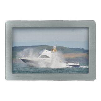 Leisure Fishing Boat Rectangular Belt Buckle