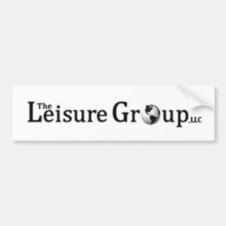 Leisure Group Products Bumper Sticker