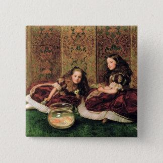 Leisure Hours, 1864 15 Cm Square Badge