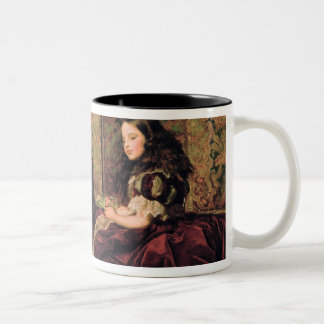 Leisure Hours, 1864 Two-Tone Coffee Mug