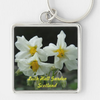 Leith Hall Garden Flower Key Chain