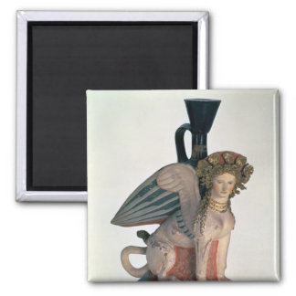 Lekythos in the form of a Sphinx Fridge Magnet