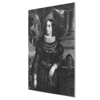 Lelia, illustration from 'Lelia' by George Sand Canvas Print
