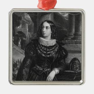 Lelia, illustration from 'Lelia' by George Sand Christmas Ornament