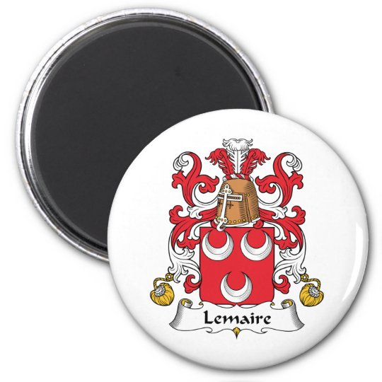 Lemaire Family Crest Magnet