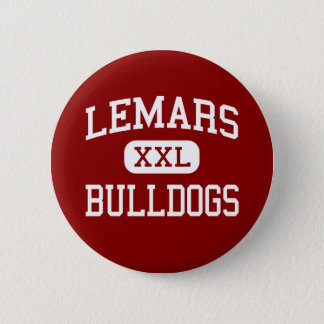 LeMars - Bulldogs - Community - Le Mars Iowa 6 Cm Round Badge