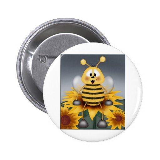 Lembrancinha da Abelhinha 6 Cm Round Badge