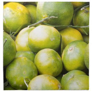 lemon and citrus cloth napkins