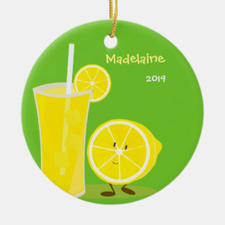 Lemon and Lemonade | Christmas Ornament