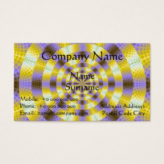 Lemon and Lilac Rings Business Card