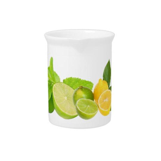 Lemon and Lime Pitcher