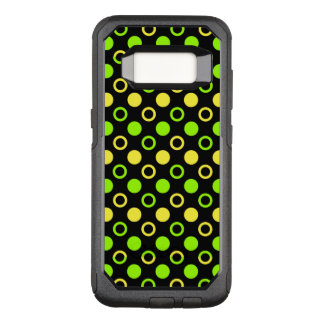 Lemon and Lime Rings and Polka Dots by STaylor OtterBox Commuter Samsung Galaxy S8 Case
