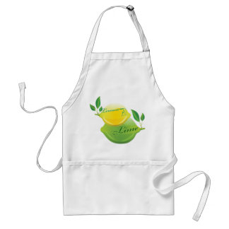 Lemon and Lime Standard Apron