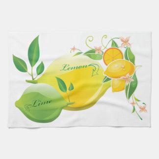 Lemon and Lime Tea Towel