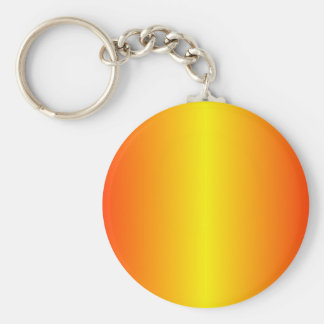 Lemon and Scarlet Gradient Keychains
