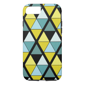 Lemon and Teal Triangle Case