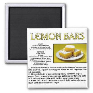 Lemon Bars Magnet