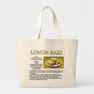 Lemon Bars Jumbo Tote Bag