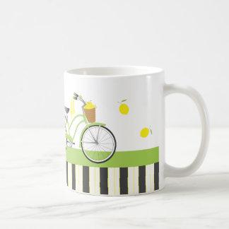 Lemon Bicycle Basic White Mug