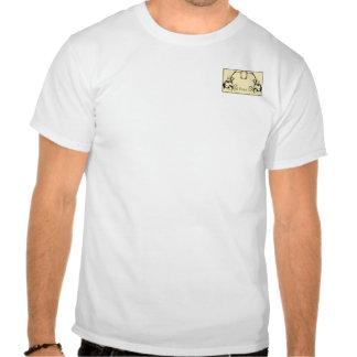 Lemon & Black Monogram Filigree Shirts