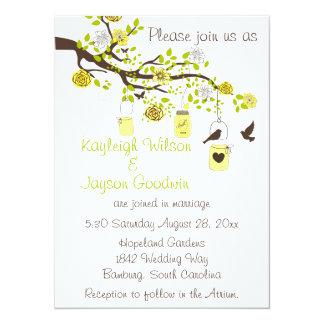 Lemon Bliss Wedding Custom Announcement