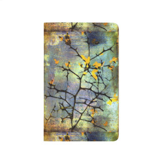Lemon Blossom Branches Pocket Journal
